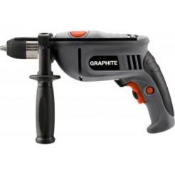 Graphite Elektrische Boormachine 750w 13mm Boorkop Snelspan