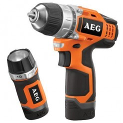 AEG Powertools BS 12 C2 - 12 V Accu-Compact-Schroefboor-Machine