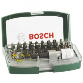 Bosch 32-dlg Schroevendraaier - Set - Snelwissel Bithouder Magnetisch