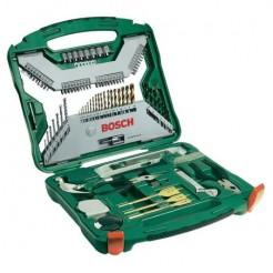 Bosch 103 tlg X-Line Set Titanium - Kunststof koffer