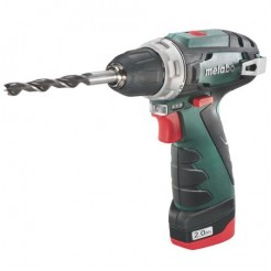 Metabo PowerMaxx BS - Basic - Accu-schroef-boormachine 2x20AhKoffer