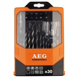 AEG Powertools Multiset Borenschroeven - 30-delig