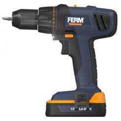 FERM CDM1114S - FS-Line - Li-Ion accuboormachine 18V - 15Ah