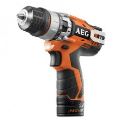 AEG Powertools BSB 12 C2 2x15Ah Pro Li-Ion - Accu-Slagschroever
