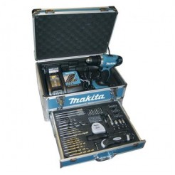 Makita BDF 343 RHX 2 -  DEAL - 144V Accuboormachine  67 dlg acc kit